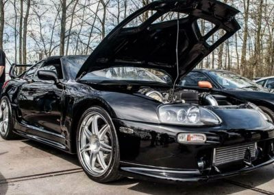 Black Toyota Supra Custom build by Next Level Automotive nextlevelautomotive.eu