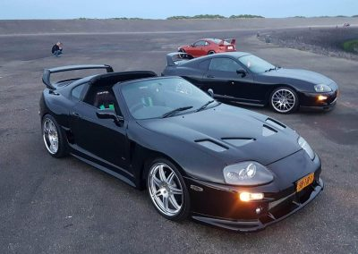 Black Toyota Supra foto Custom build by Next Level Automotive nextlevelautomotive.eu