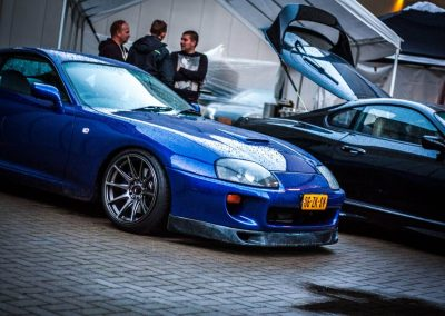 Blue Toyota Supra meeting Custom build by Next Level Automotive nextlevelautomotive.eu