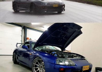 Dark Blue Toyota Supra Custom build by Next Level Automotive nextlevelautomotive.eu