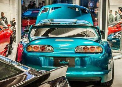 Toyota Supra LHD showroom Custom build by Next Level Automotive nextlevelautomotive.eu