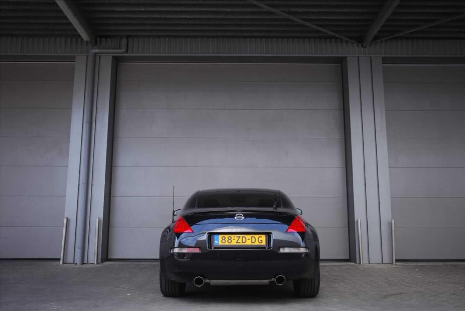 Nissan 350Z HR Track Edition 2008 back – by Next Level Automotive – Go to nextlevelautomotive.eu