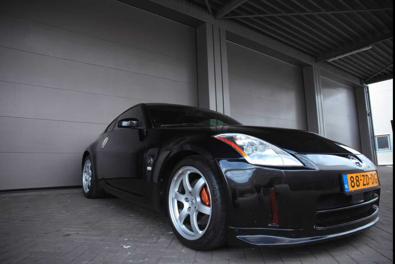 Nissan 350Z HR Track Edition 2008 front side – by Next Level Automotive – Go to nextlevelautomotive.eu