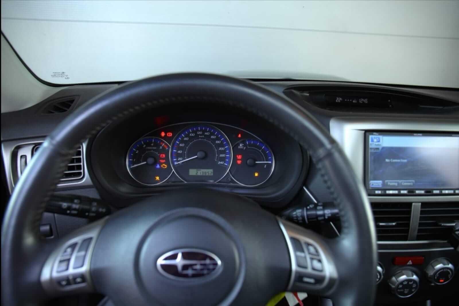 Subaru Forester dashboard – by Next Level Automotive – Go to nextlevelautomotive.eu