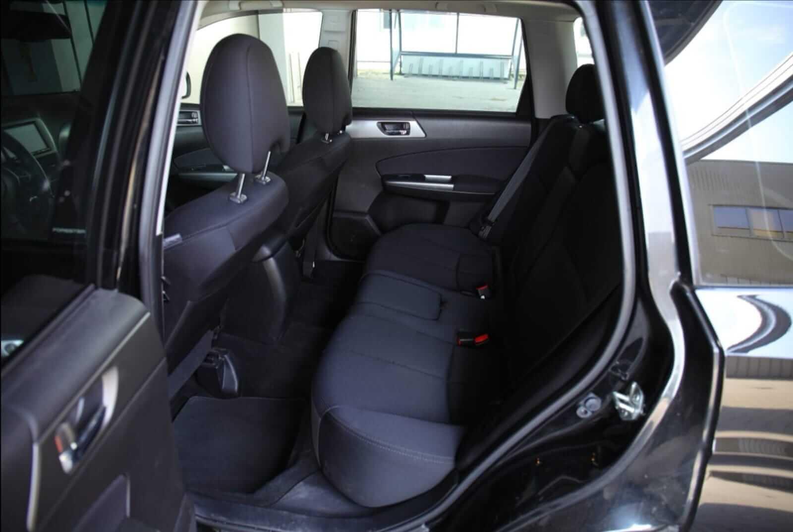 Subaru Forester front rear interior – by Next Level Automotive – Go to nextlevelautomotive.eu