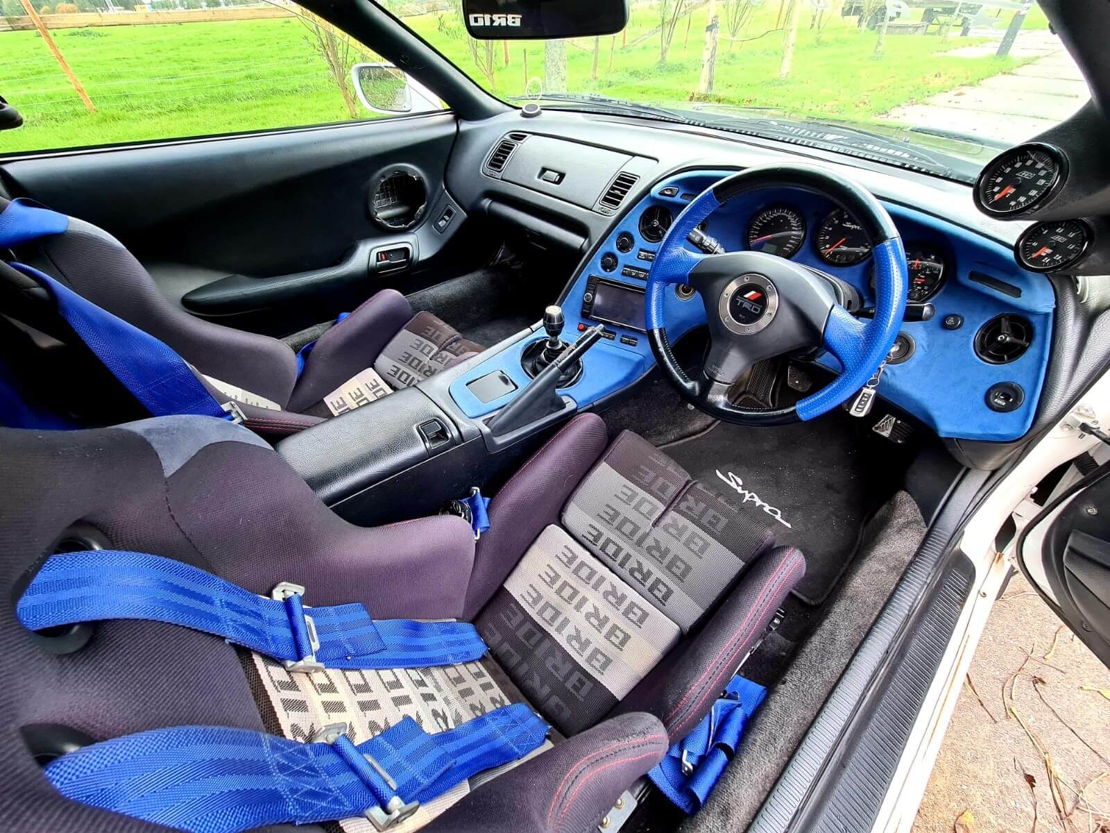 Toyota Supra Big Single turbo 950HP 5
