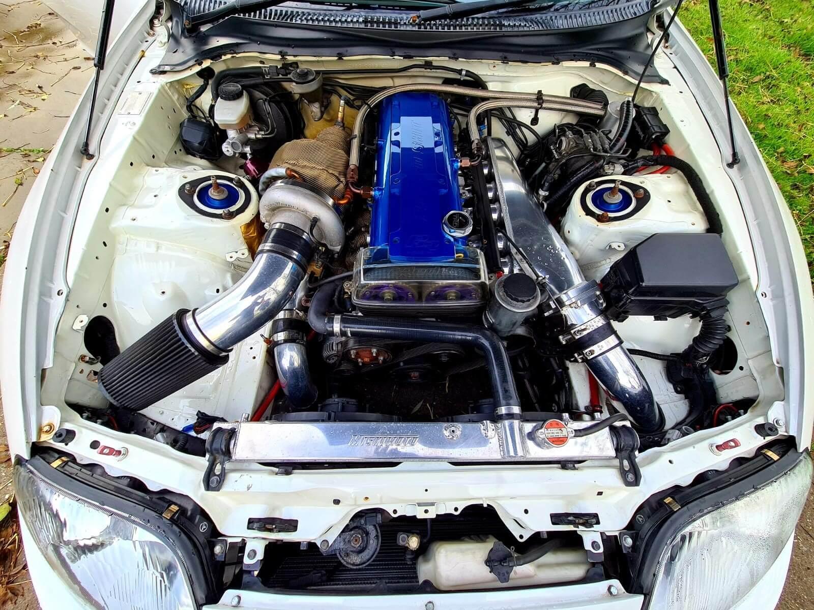 Toyota Supra Big Single turbo 950HP 7