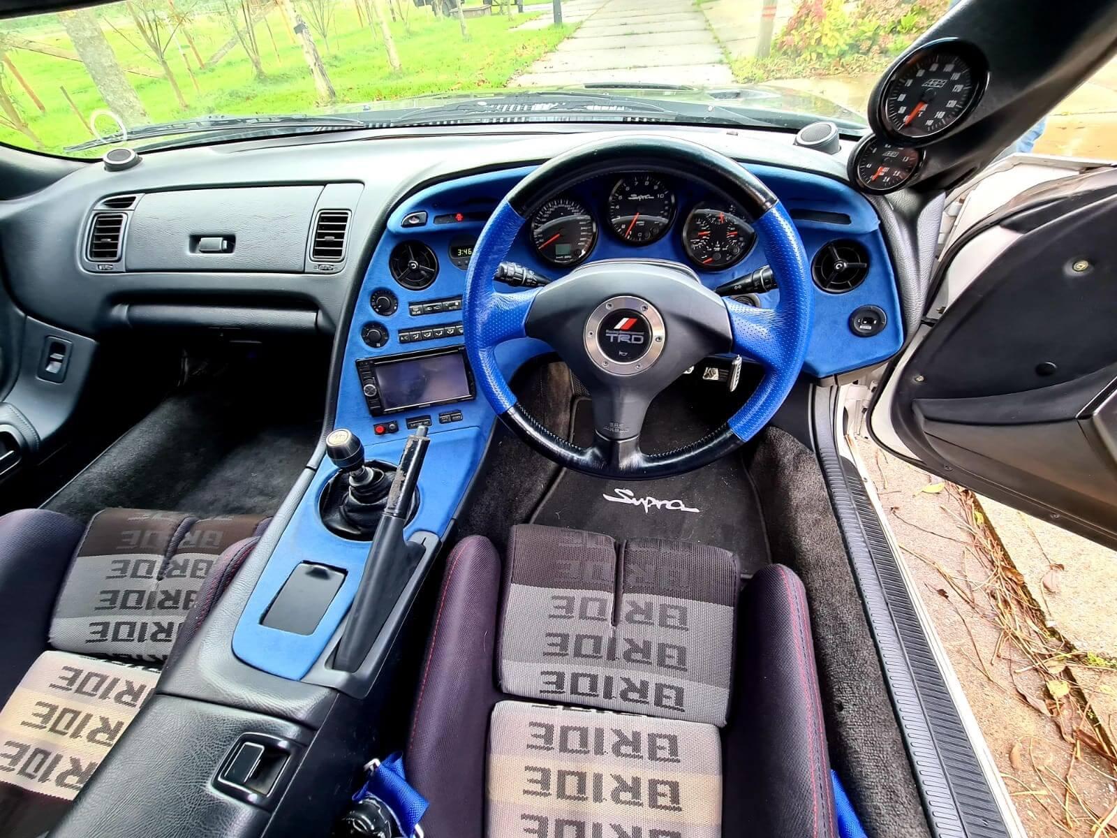 Toyota Supra Big Single turbo 950HP 9